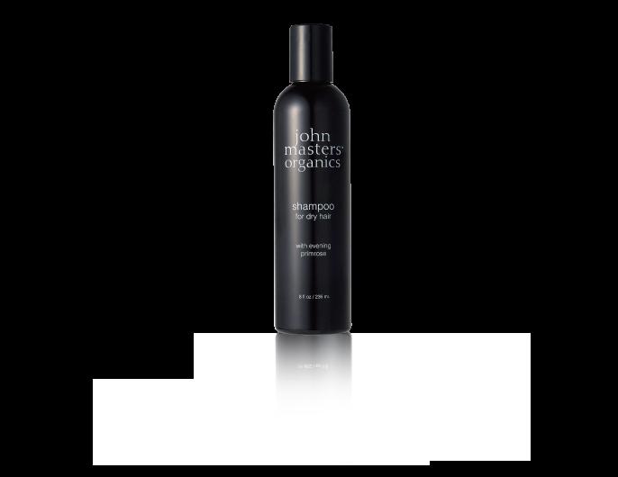 shampoo for dry hair with eveningprimrose