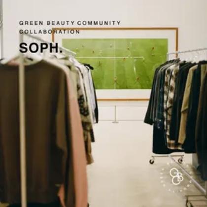 SOPH. コラボレーション インタビューページ