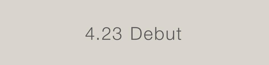 4.23 Debut