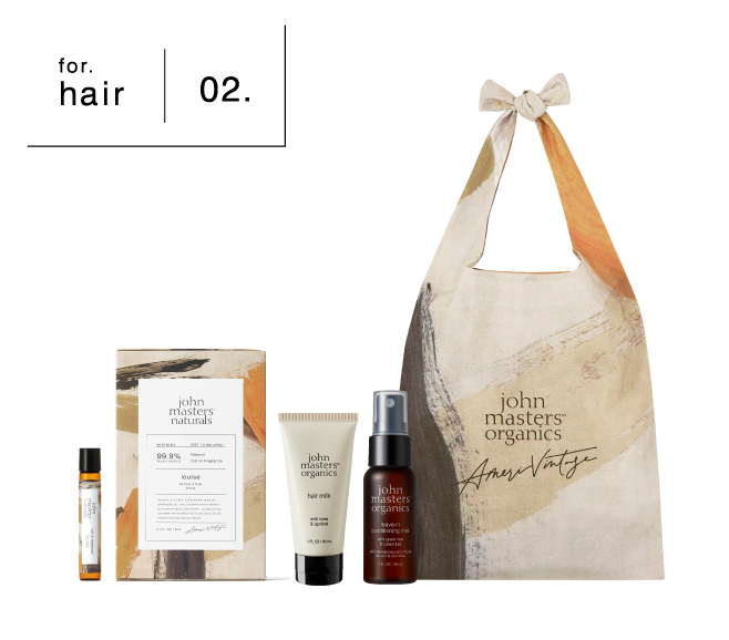 john masters organics×Ameri VINTAGE  & louise kit